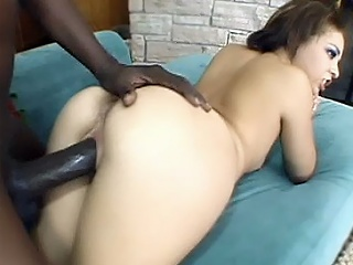 See dark brown hair pornstar Tia Sweets hardcore sex movie scene as that honey and her...