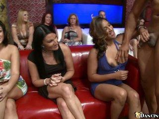 Ladies love dark stripper's precious 10-Pounder