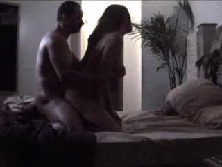 Darksome pair does it doggy style in daybed