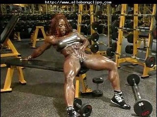 Fantastic Clip With Muscled Playgirl