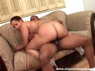Big darksome booty is hot riding his cock