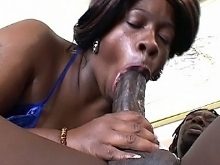 Watch hawt bbw ebon Dimples as this honey takes on a lascivious darksome muffin with...