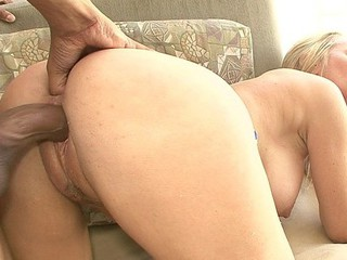Tabitha Stevens acquires on her knees to inhale a large darksome penis.  That Playgirl smokes that bone to full erection, then spreads her creamy thighs wide to take his hard thrusts.  This Chab copulates her with that magic dong until this guy's hitting her G spot and filling her up with ball batter.